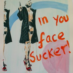 Art by Dom Pattinson, Urban Art, Kiss My Art