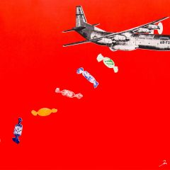 joe-webb-candy-bomb-red-urban-art-pop-sweets-airplane-plane-limited-edition-print-silkscreen-screenprint