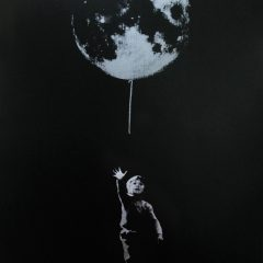 joe-webb-small-steps-urban-art-pop-little-boy-earth-balloon-limited-edition-print-silkscreen-screenprint