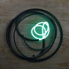 mark-beattie-wall-based-neon-turqouise-neon-painted-copper-and-steel-backing-art-sculpture