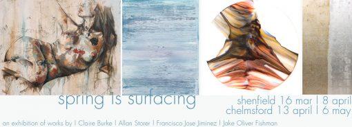 art-exhibition-gallery-essex-shenfield-chelmsford-claire-burke-allan-storer-jake-oliver-fishman-francisco-jose-jiminez-artist