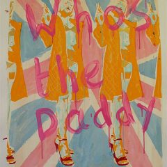 dom-pattinson-limited-edition-silkscreen-pulp-art-whos-the-daddy-union-jack-yellow-pink-girls-guns