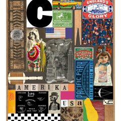 sir-peter-blake-usa-collage-limited edition-pacific-park