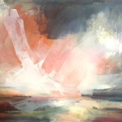 Henrietta stuart light estuary scotland multicoloured abstract landscape oil painting