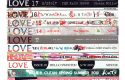mark vessey love collection of LOVE books limited edition phtotograph