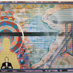 Adam Green I Am Your Density original art acrylic on canvas