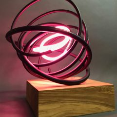 Mark Beattie Turner Barnes Gallery Sculpture Pink Pearl