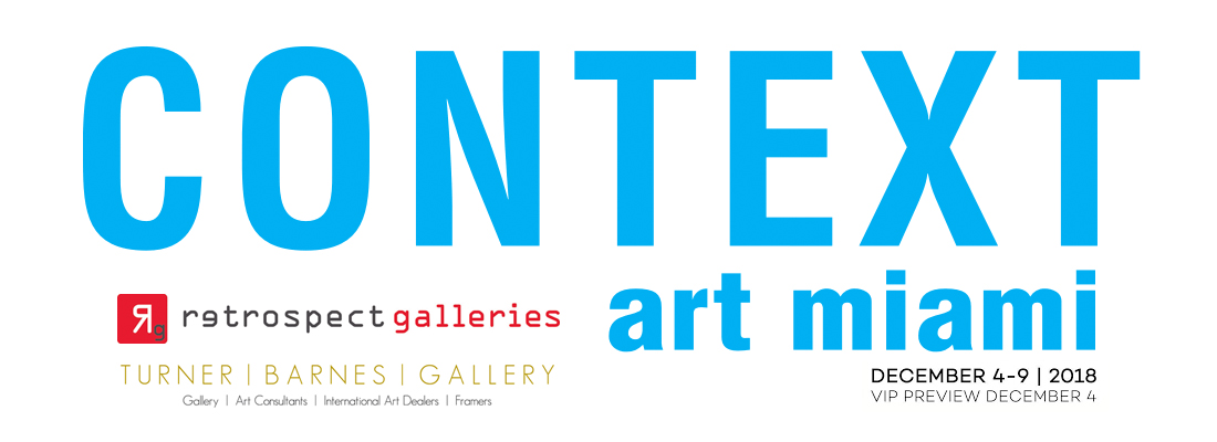 Context art Fair Miami December 2018 Retrospect Galleries Turner Barnes Gallery