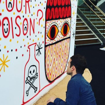 David Shillinglaw Installation at Affordable Art Fair Battersea