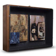 Turner Barnes Gallery Claire Newman Williams Mixed Media Assemblage Box Original Art Specimen