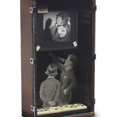 Turner Barnes Gallery Claire Newman Williams Mixed Media Assemblage Box Original Art Vaudeville 2