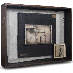 Turner Barnes Gallery Claire Newman Williams Mixed Media Assemblage Box Original Art View