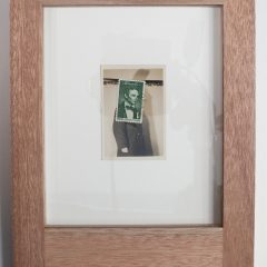 Gavin Mitchell Original Collage Photograph Stamp Different Persona XXII