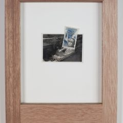 Gavin Mitchell Original Collage Photograph Stamp Different Persona XXXII