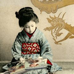 Gavin Mitchell Geisha girls Limited Edition Print Monster Book For Girls