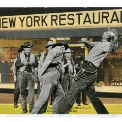Gavin Mitchell Limited Edition Print New York Scuffle
