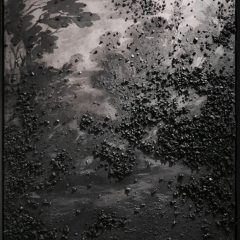 Dean & James Limited Edition Print with Charcoal Embellishment The Long Road