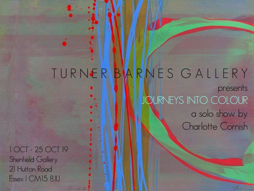 An exhibition of abstract paintings by Charlotte Cornish a leading UK abstract artist