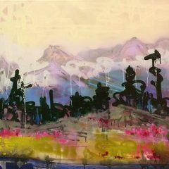 An orginal by Tom Lewis an urban art grafitti style