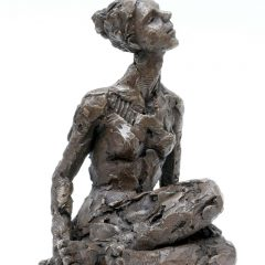 Limited edition bronze resin sculpture
