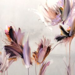 Floral abstract original on canvas