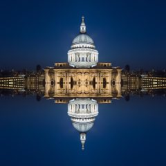 Limited edition digital photography of St Paul's Cathedral