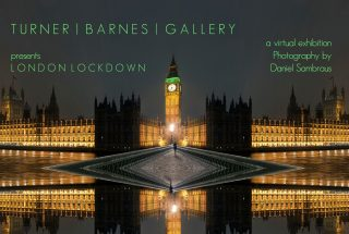 lodon lockdown photography exhibition image showing Big Ben London at night