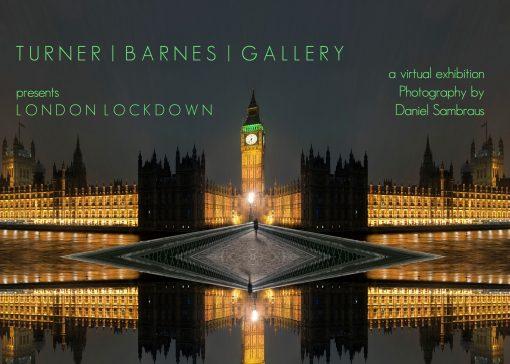 lodon lockdown photography exhibition image showing Big Ben London at night
